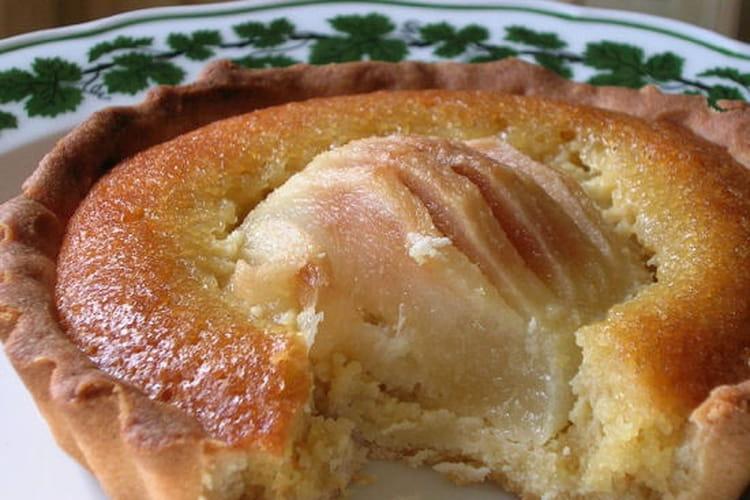Tartelettes amandines aux poires