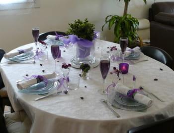 Violette de toulouse for Credence violette