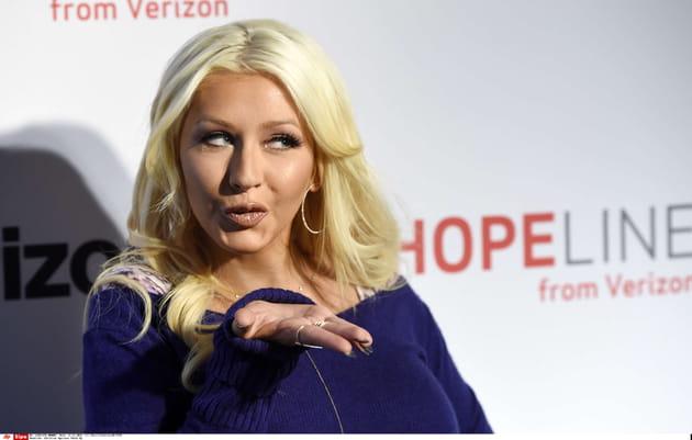 Christina Aguilera et ses lèvres charnues
