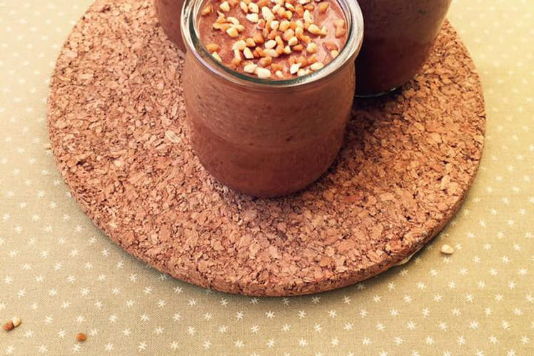 Mousse chocolat pralin