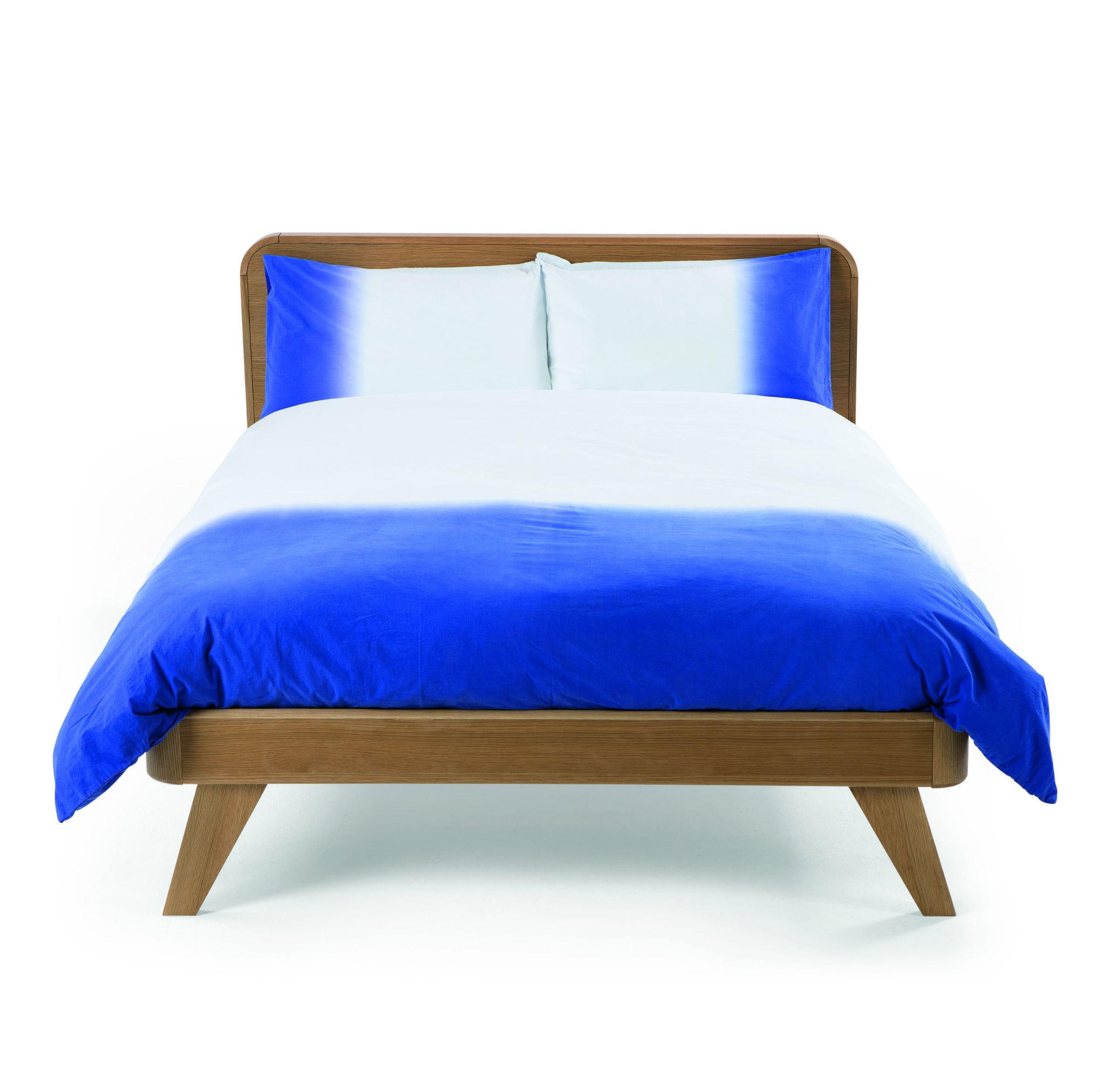 linge de lit dipped bleu de. Black Bedroom Furniture Sets. Home Design Ideas