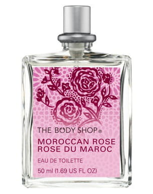 eau de toilette rose du maroc de the body shop