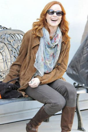 marcia cross à beverly hills en californie, décembre 2011.
