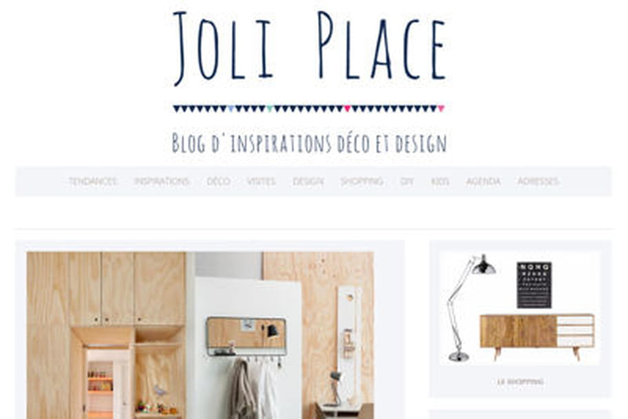Le blog du moment : Joli Place