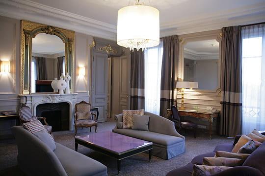 Salon d'une suite présidentielle