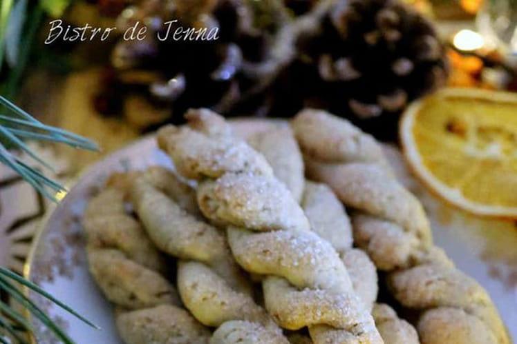 Biscuits torsadés à l'huile d'olive