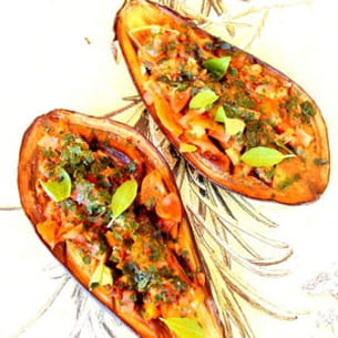 aubergines façon provençales