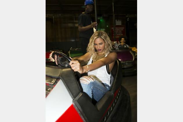 Beyoncé, une fille fun
