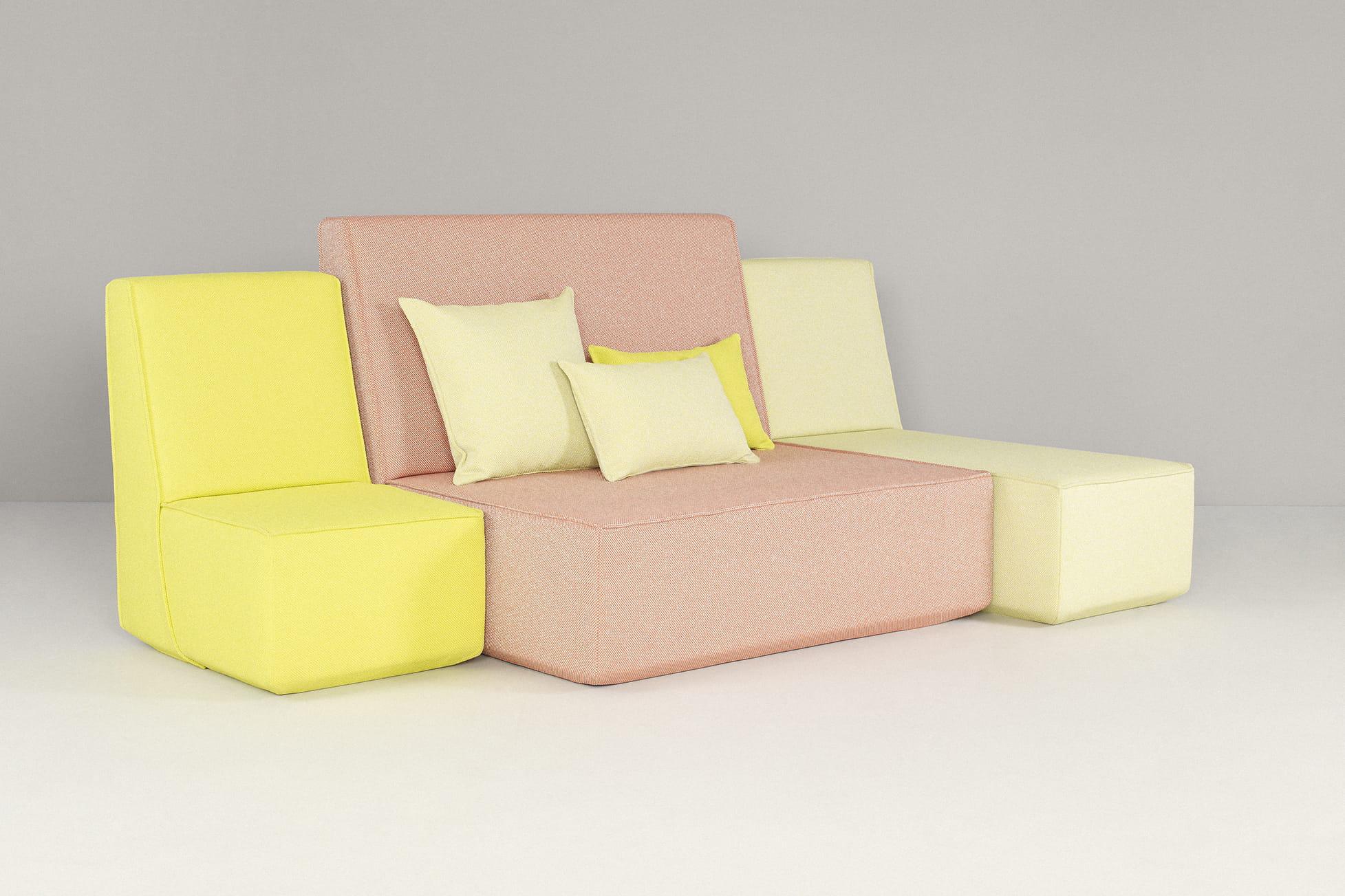 canap modulable cubit. Black Bedroom Furniture Sets. Home Design Ideas