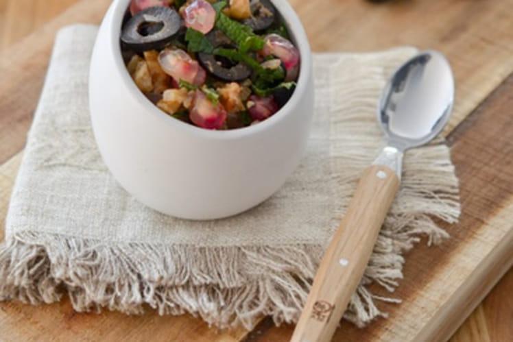 Salsa aux olives d'Espagne Hojiblanca et grenade