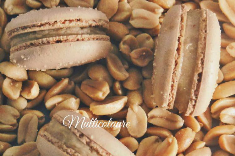 Macarons Cacahuète