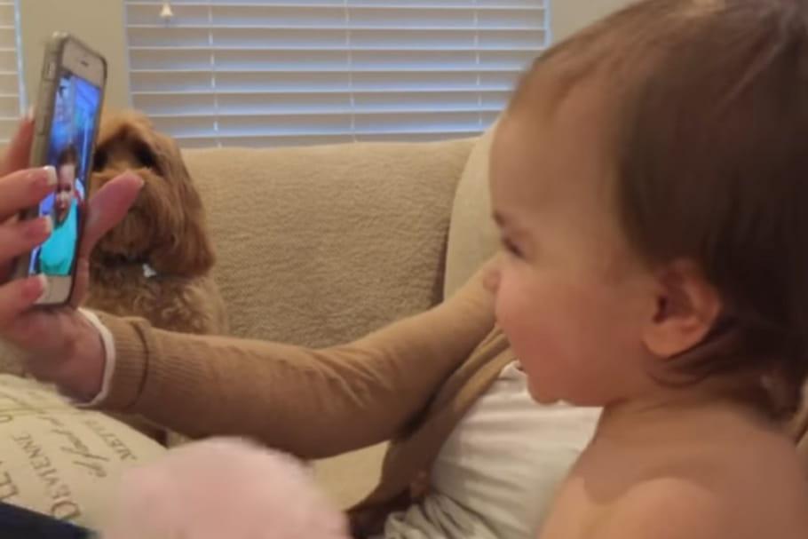 Vidéo: Quand deux bébés discutent sur FaceTime...