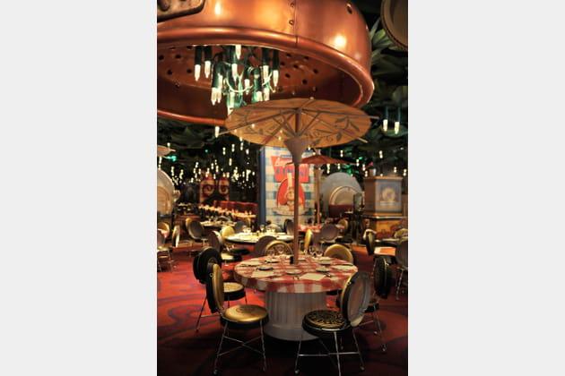 Un restaurant surdimensionné