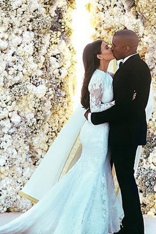 Kim Kardashian Et Kanye West Robe Givenchy