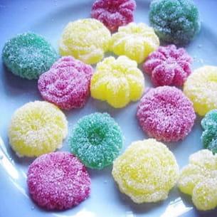 bonbons gélifiés enfantins