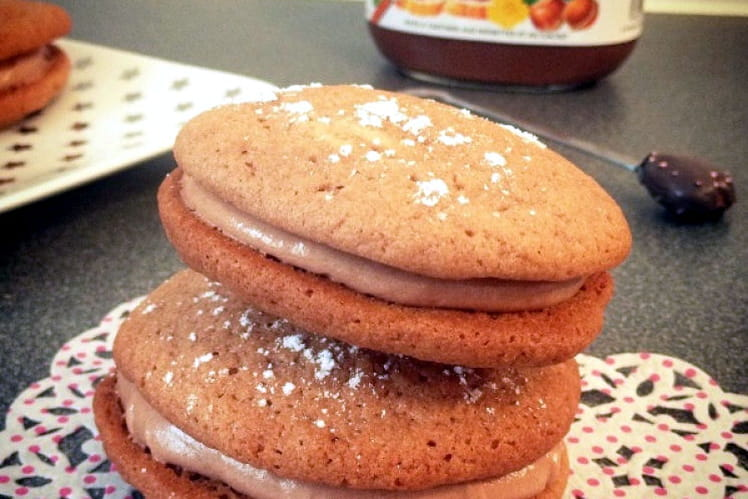 Whoopies maison au Nutella