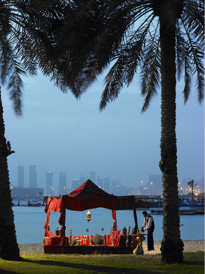 Vue de Doha