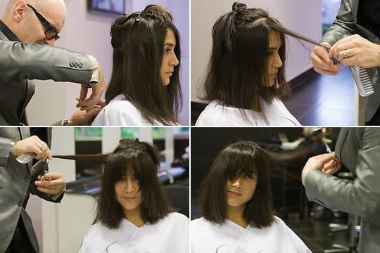 La coupe de cheveux sauvageonne