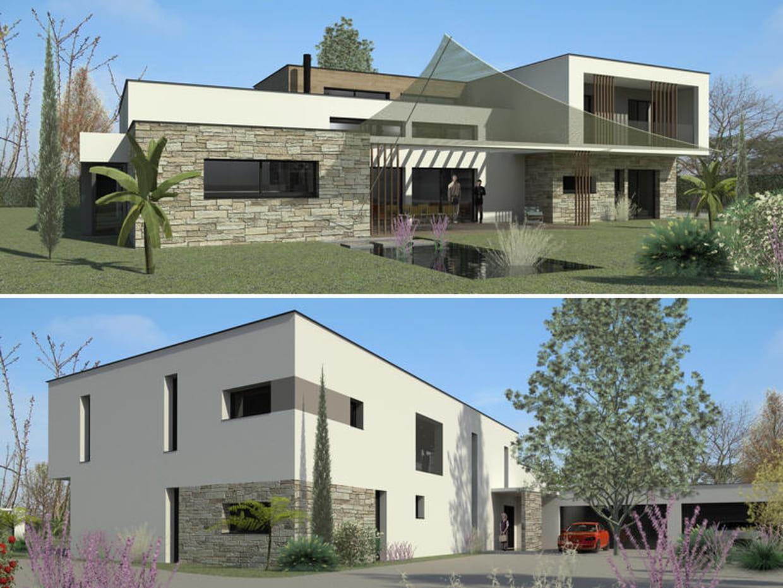 Une maison contemporaine haut de gamme for Maison haut de gamme