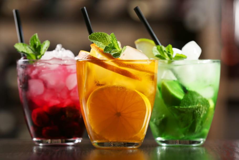 Comment faire un joli cocktail coloré?