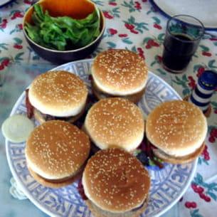 hamburgers faciles