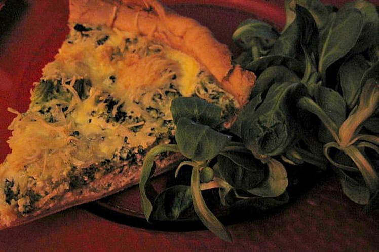Tarte au saumon et brocolis