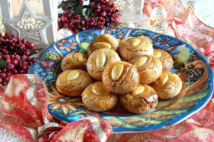 Biscuits aux amandes et citron