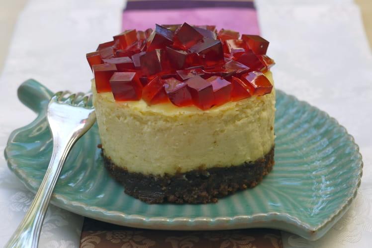 Cheesecake à la gelée de baies aux 5 saveurs