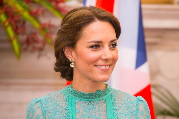 Kate Middleton: le chignon tressé