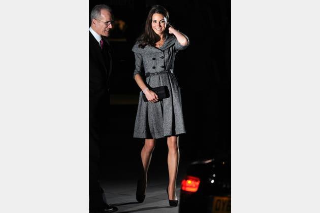 Kate Middleton le 8février 2012