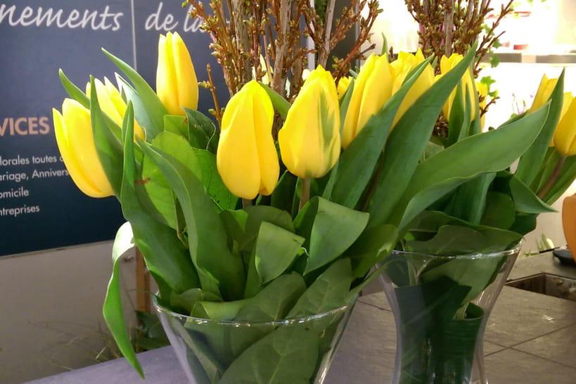 DIY : un bouquet printanier d'un jaune éclatant