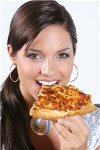 une pizza après le régime, vous l'avez bien mérité...