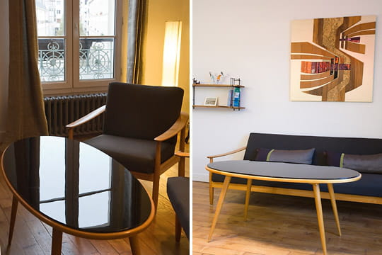 Un coin salon design