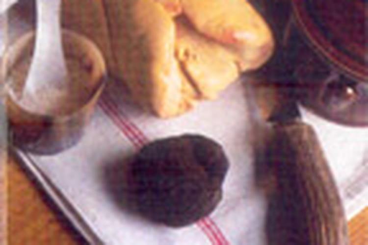 Foie gras mi-cuit au Monbazillac