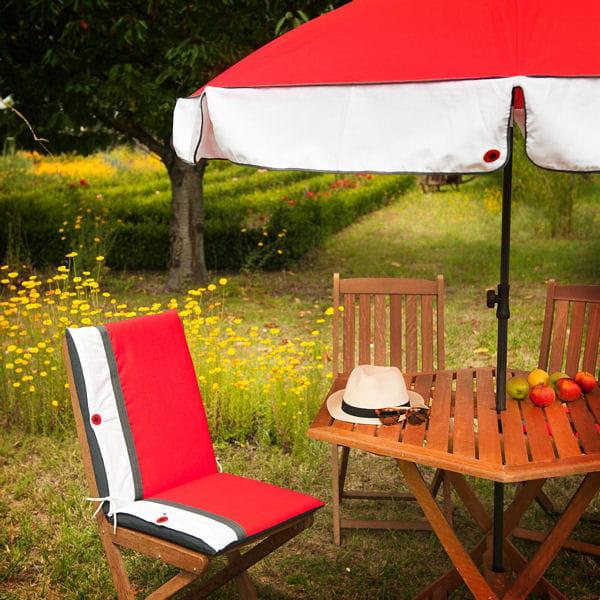 Coussin De Chaise Coquelicot De Jardin Prive
