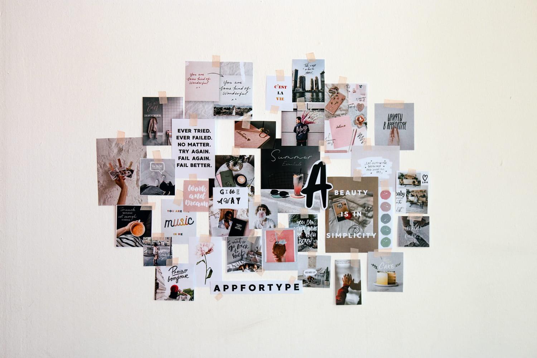 Le collage redevient tendance pour mieux twister la déco murale