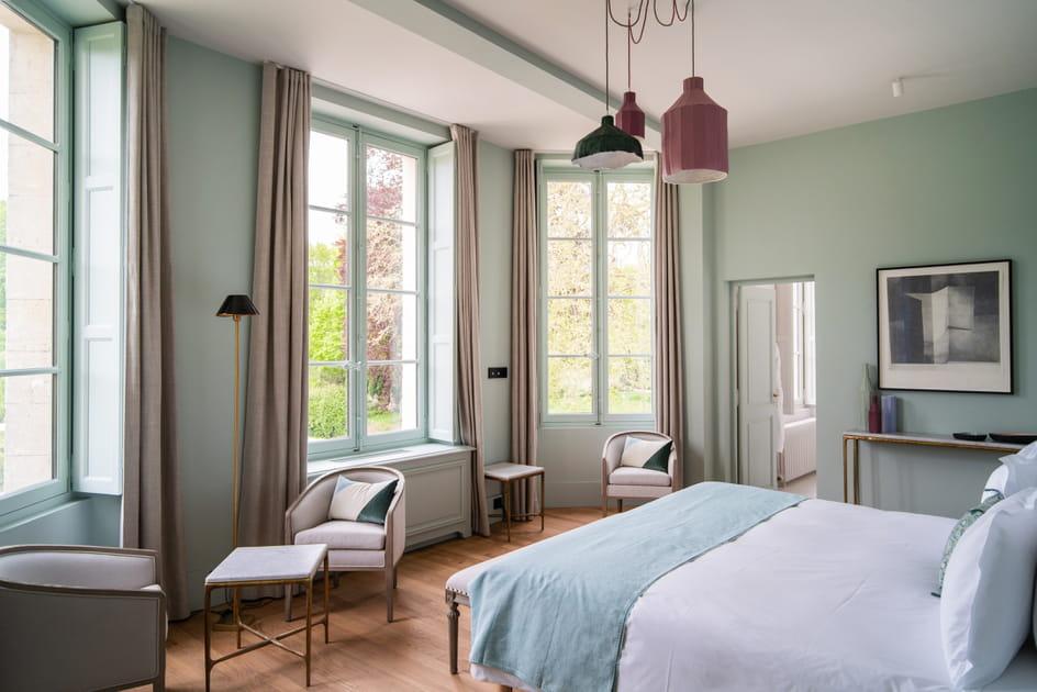 Des chambres pastel