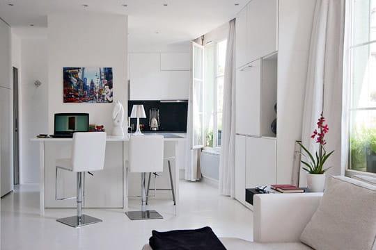 un espace modulable. Black Bedroom Furniture Sets. Home Design Ideas