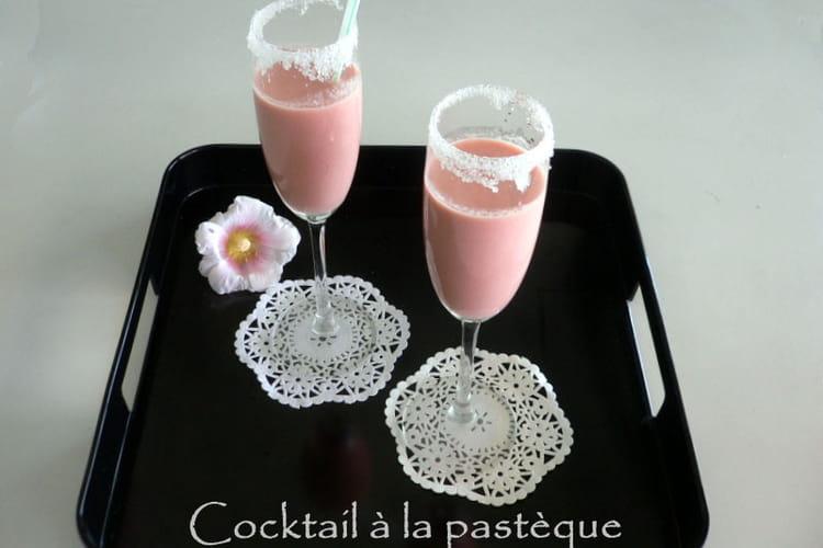Cocktail à la pastèque sans alcool