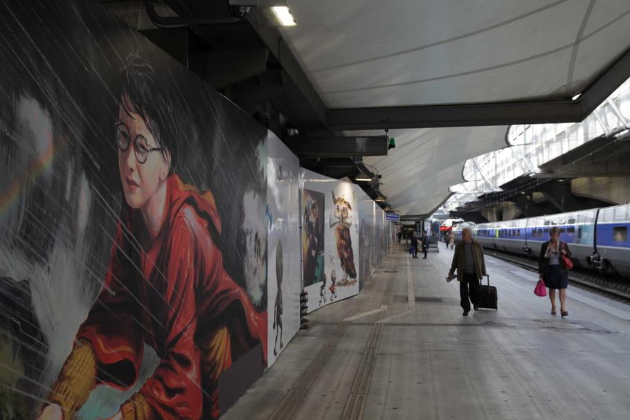 Harry Potter débarque dans les trains français