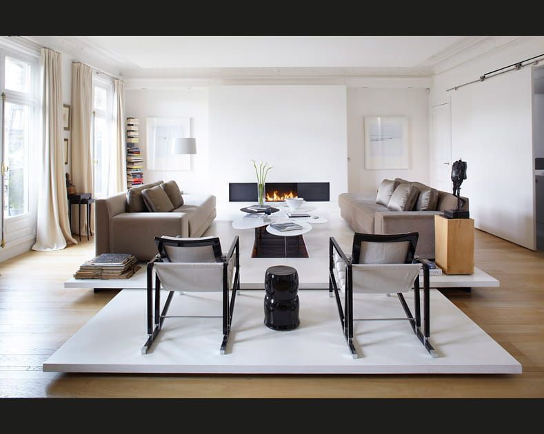Modernisation chic dans un grand appartement