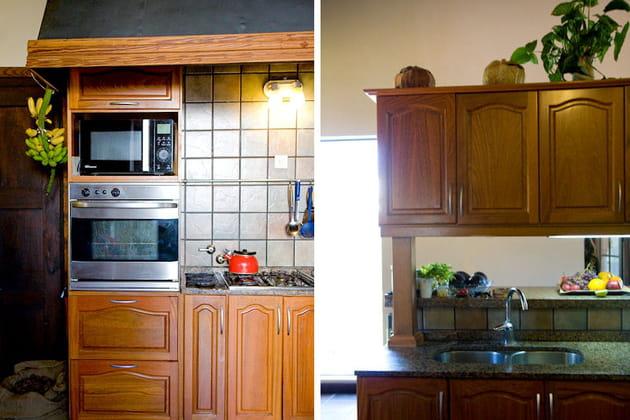 cuisine d 39 inspiration rustique. Black Bedroom Furniture Sets. Home Design Ideas