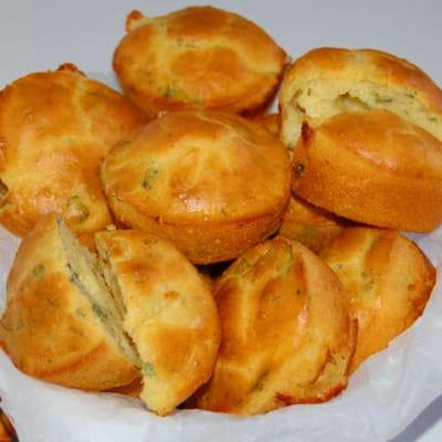 muffins à la sauge et à la mozzarella