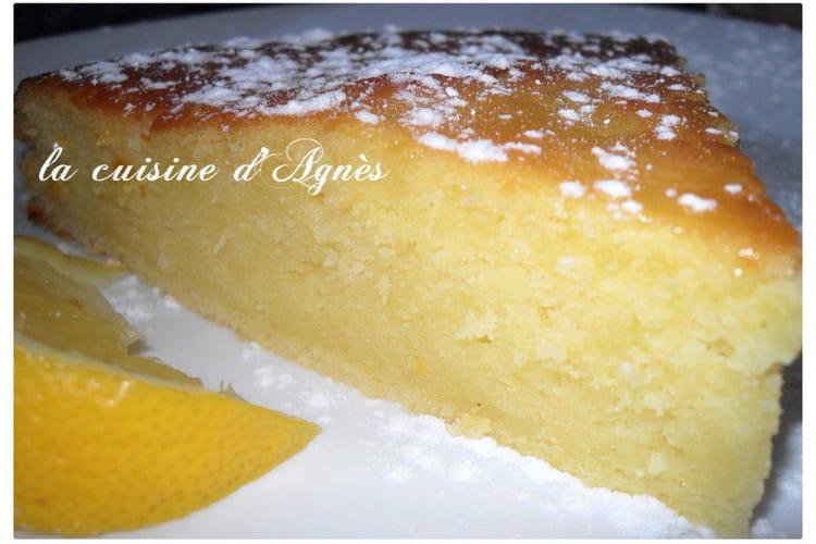 Gâteau au citron et à l'huile d'olive