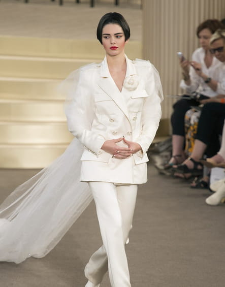Robe de mariée Chanel, surprenante