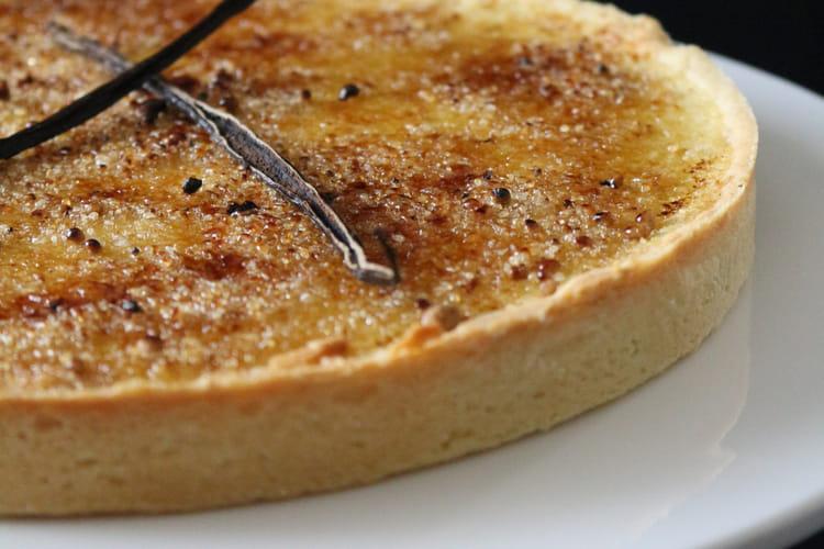 Crème brûlée en tarte parfaite