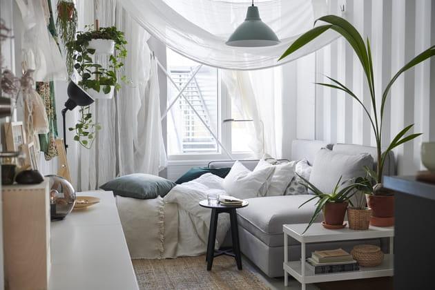 Combinaison canapé-lit Vallentuna d'IKEA