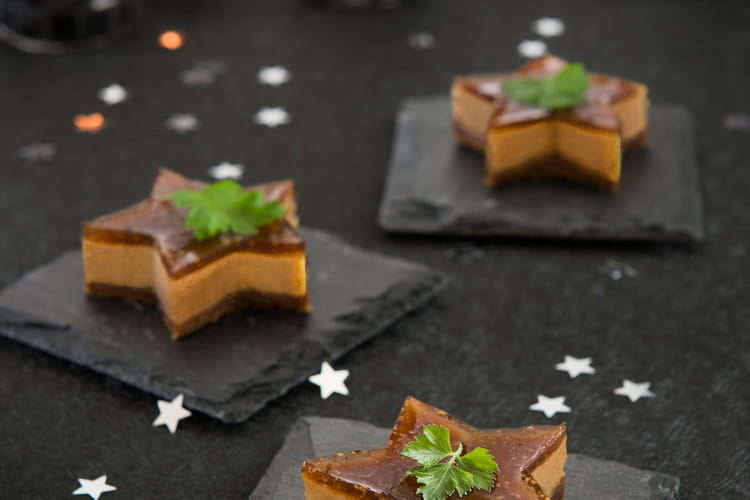 Cheesecakes au foie gras et à la Confiture de Figues