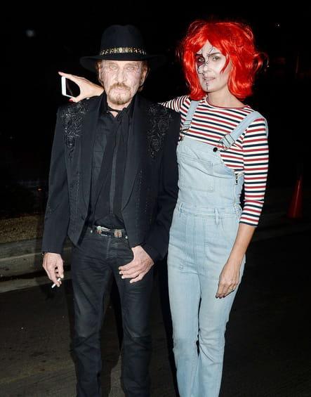 Johnny et Laeticia Hallyday en Chucky