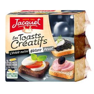 toasts créatifs